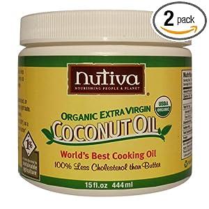 Nutiva 天然有机初榨椰子油