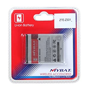Li-Ion Cell Phone Battery 1380 mAh FOR ZTE Z331