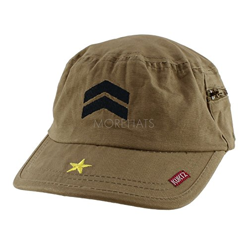 Womens Mens Unisex Authentic a Kurtz Fritz Military Army Cotton Baseball Cap Hat Color Olive (Club America Bottle Opener compare prices)