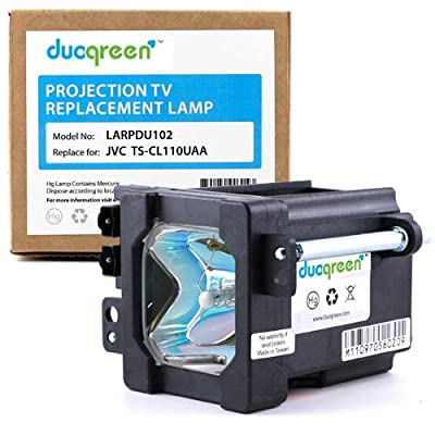 duogreen jvc ts cl110uaa projection tv replacement lamp for hd 52fa97. Black Bedroom Furniture Sets. Home Design Ideas