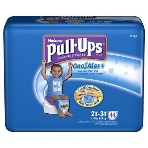Huggies Pull-Ups Training Pants, with Cool Alert, Size 2T-3T (18-34 lb), Disney Pixar Cars, Jumbo, 26-Count (Pack of 4) (Cool Alert Training Pants compare prices)