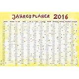 Jahresplaner Cartoon XL 2016 - Wandplaner / Plakatkalender (99 x 69)