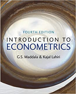 Introductory econometrics a modern approach 5th edition solutions