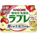 【冷蔵】【6パック】ラブレ りんご 80mlX3本
