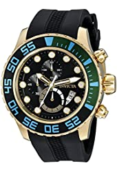 Invicta Men's 20450SYB Pro Diver Analog Display Quartz Black Watch