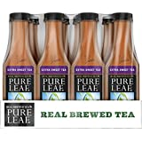 Pure Leaf Bottles, Extra Sweet, 18.5 Ounce Bottles (Pack of 12)