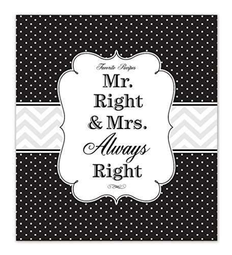 Brownlow Kitchen Recipe Binder, Mr. and Mrs. Right