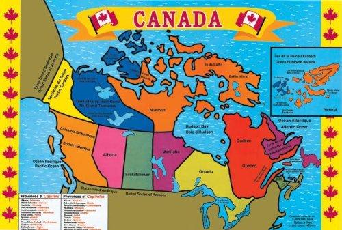 Canada (48 pc) Floor Puzzle