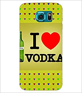 PrintDhaba Quote D-3249 Back Case Cover for SAMSUNG GALAXY S6 (Multi-Coloured)