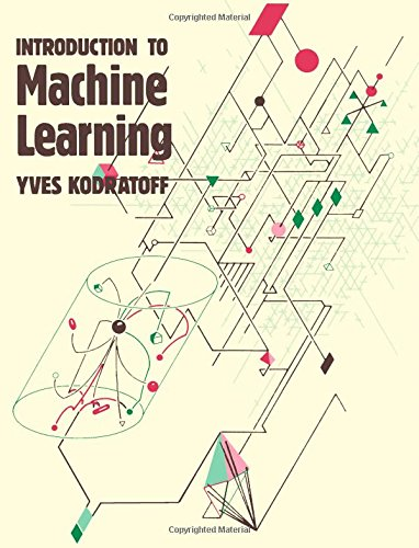 Introduction to Machine Learning (Research Notes in Artificial Intelligenc) PDF
