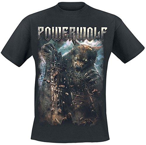 Powerwolf Cathedral T-Shirt nero XXL
