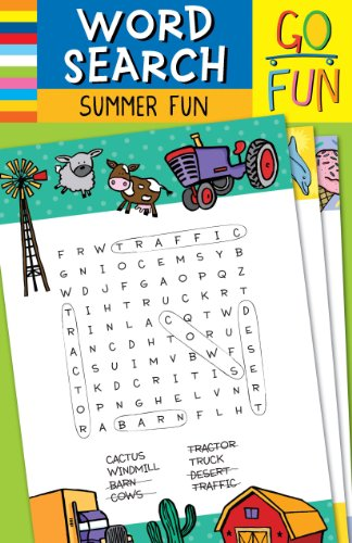 Go Fun! Word Search: Summer Fun