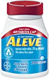 Aleve Tablets with Easy Open Arthritis Cap, 200 Count (Pack of 2)