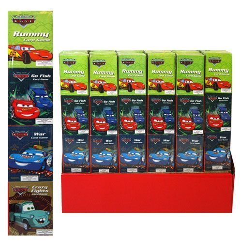 Disney Cars 4 Mini Card Games and Cards - 1