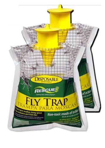 sterling-rescue-2-pack-outdoor-disposable-fly-catcher-control-trap-with-attractant-insecticide-free
