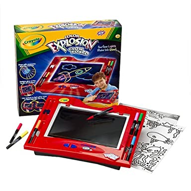 Crayola Color Explosion Glow Board Reviews
