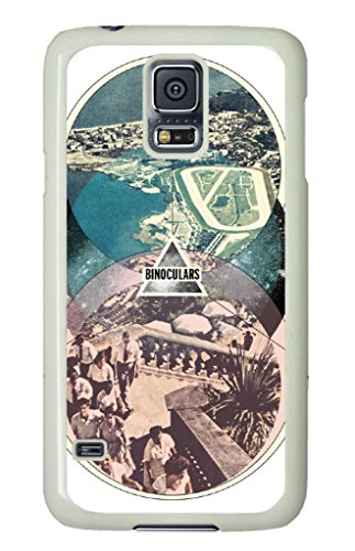 Custom Design Binoculars Printed Hard Shell Case Cover Design Your Own Case For Samsung Galaxy S5 White (730) -82154