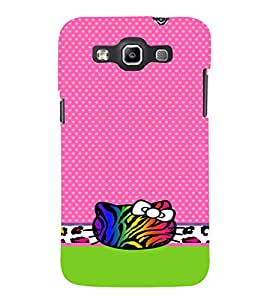 Cat Graphics Cute Fashion 3D Hard Polycarbonate Designer Back Case Cover for Samsung Galaxy Quattro Duos :: Samsung Galaxy Grand Quattro :: Samsung Galaxy Win Duos I8552