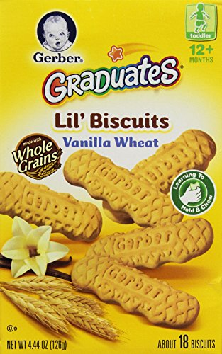 Gerber Graduates Biter Biscuits, 4.44 OZ
