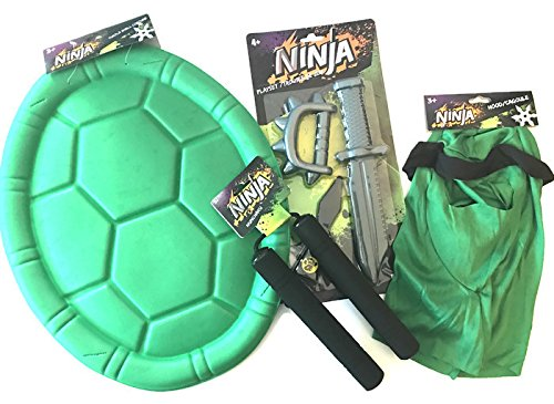 [Ninja Dress Up and Role Play Costume Bundle for Children] (Ninja Zombie Costumes Child)