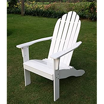 Cambridge-Casual AMZ-240252W Bentley Adirondack Chair, White