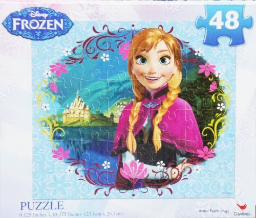 "Disney FROZEN ""ANNA of Arendelle "" 48 Piece Jigsaw Puzzle"