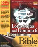 Brian Benz Lotus Notes and Domino 6 Programming Bible