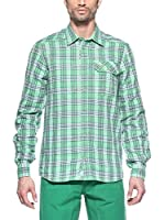 Salewa Camisa Hombre Pelusios Co M L/S (Verde)