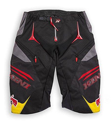 Pantaloni Corti Downhill Kini Red Bull Competition Black - Taglia 32