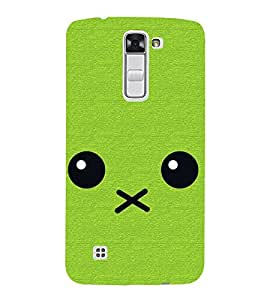 Cartoon 3D Hard Polycarbonate Designer Back Case Cover for LG K10 :: LG K10 Dual SIM :: LG K10 K420N K430DS K430DSF K430DSY