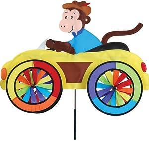 Premier Kites Car Wind Spinners 3D Lawn Art Monkey