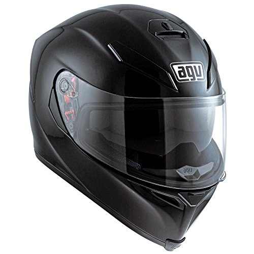 AGV-K5-Plain-Motorcycle-Helmet-Black