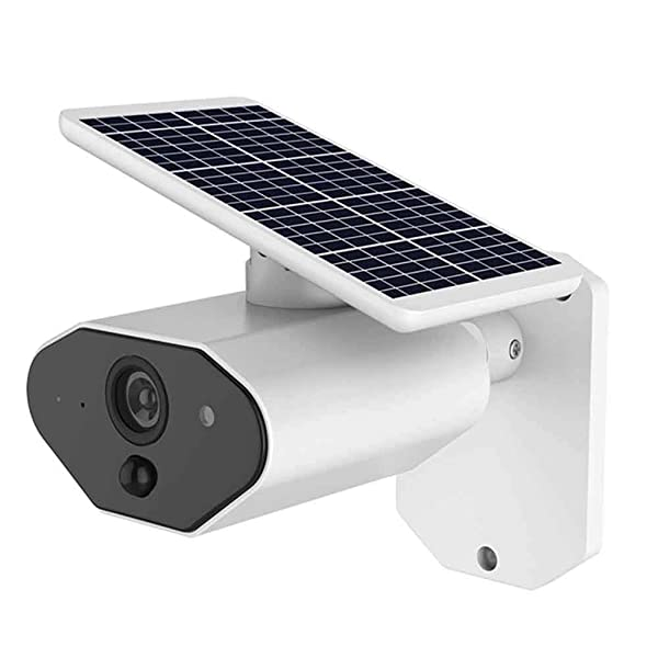 Half-moon Outdoor Solar Battery Powered Security Camera IP67