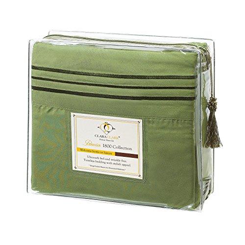Clara-Clark-Premier-1800-Collection-3pc-Bed-Sheet-Set-Twin-Single-Size-Calla-Green