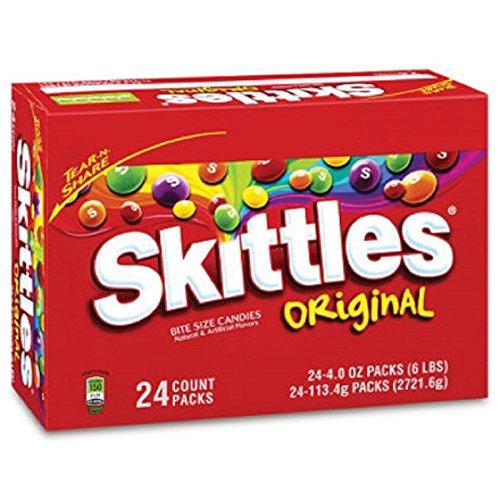 Original Fruit Skittles® King Size - 4 Oz. - 24 Ct. - Scs front-770412