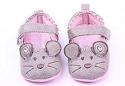 xhorizon TM FLK Toddler Baby Unisex Sweet Cute Mouse Shoes