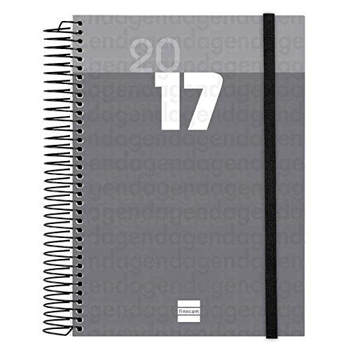 finocam-348399-agenda-dia-por-pagina-castellano-155-x-215-cm-color-negro