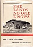 Land No One Knows (0871561301) by Watkins, T.H.