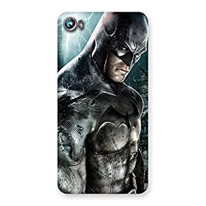 Special Green Knight Typo Back Case Cover for Micromax Canvas Fire 4 A107