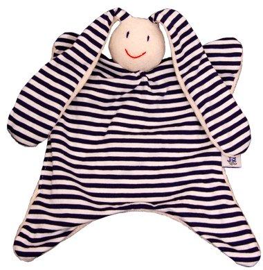 Toddels Stripes Organic Baby Comforter - Doggo