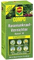Compo 16417 produit d'élimination des mauvaises herbes banvel m 240ml