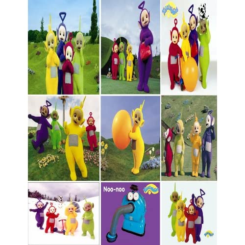Amazon.com: PBS Kids, BBC Classic Teletubbies Stickers