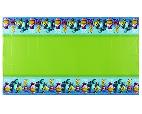Monsters University Plastic Table Cover, 54 in x 96 in, Party Supplies