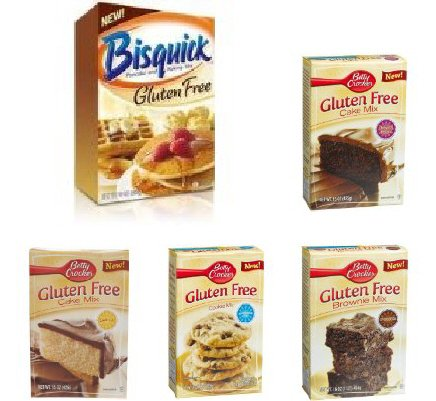 Bisquick and Betty Crocker Gluten Free Multi Pack at Amazon.com