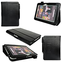 "Amazon Kindle Fire Hd 8.9"" Leather Case Cover Stand + Screen Protector + Stylus by Super size Savings"