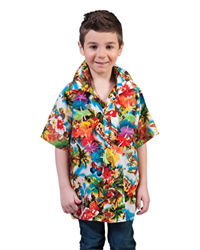 Pierro´s Kostüm Kinderkostüm Hawaii Hemd Maui Kind Größe 140