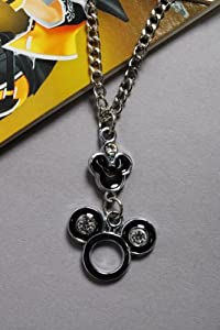 Shinning Metal Silver Necklace Cosplay Props Pendant Kingdom Hearts Japan Anime