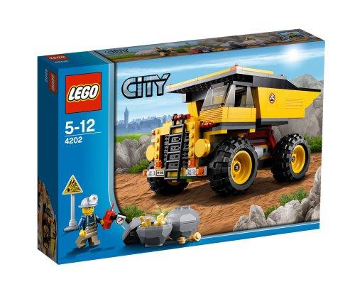 LEGO City Mining 4202 - Autoribaltabile da miniera