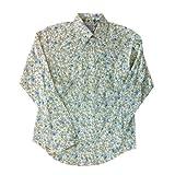 (ロックマウント ランチ ウェアー)Rockmount Ranch Wear カスタムフィット ウエスタンシャツ 小花柄 オフホワイト (14.5)