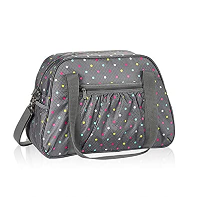 Thirty One All-In Tote in Confetti Dot - No Monogram - 6212: Handbags